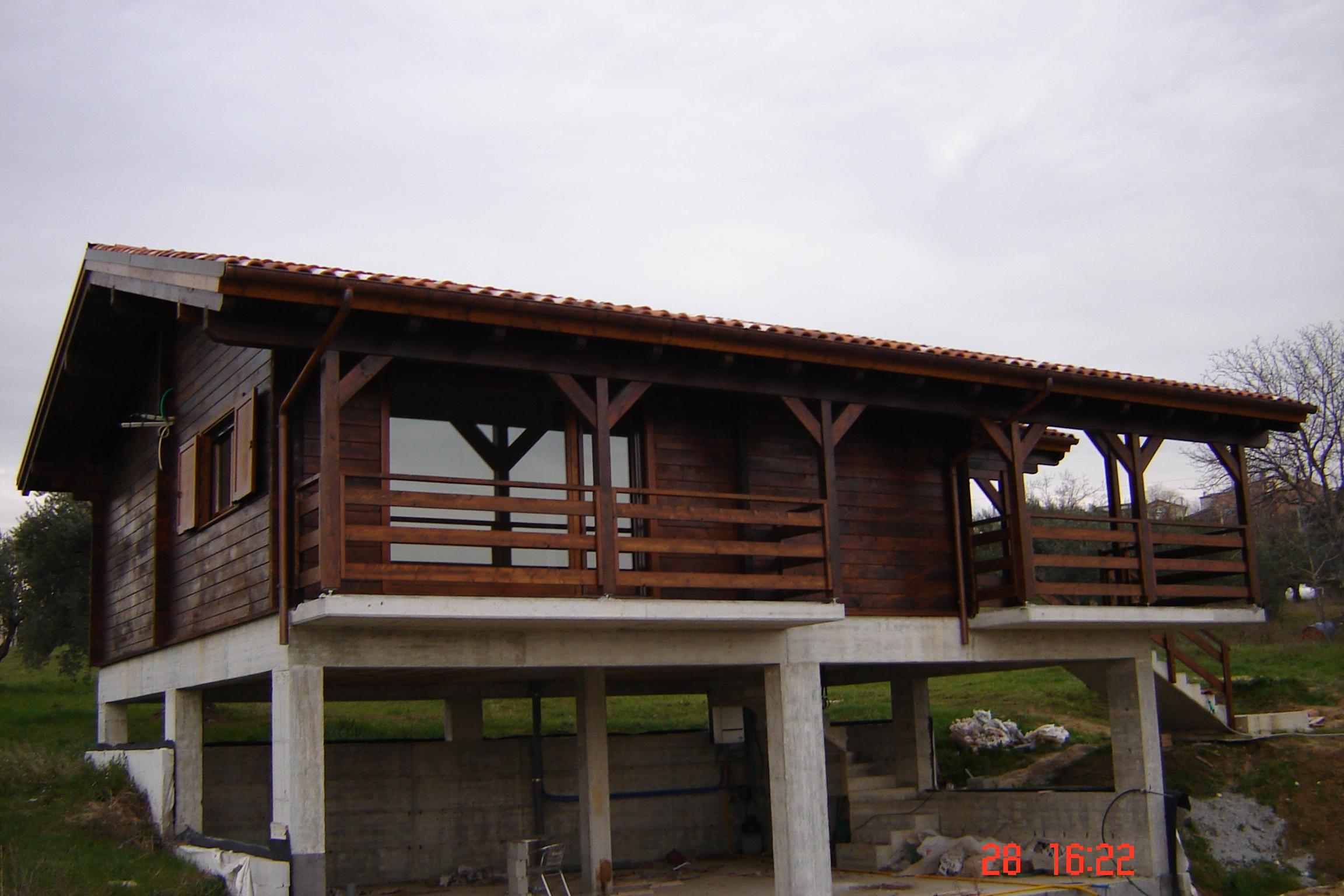 Case in acciaio e legno il sistema steelwood nasce dallu for Case in acciaio e legno